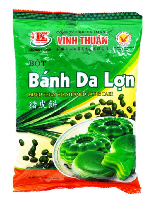Vinh Thuan Banh Da Lon Mixed Flour for Jelly Cake 400g - Yin Yam - Asian Grocery