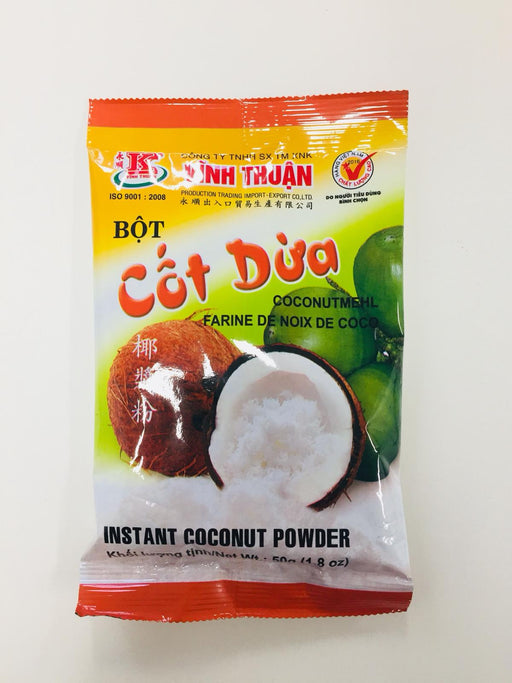 Vinh Thuan Bot Cot Dua Instant Coconut Powder 50g - Yin Yam - Asian Grocery