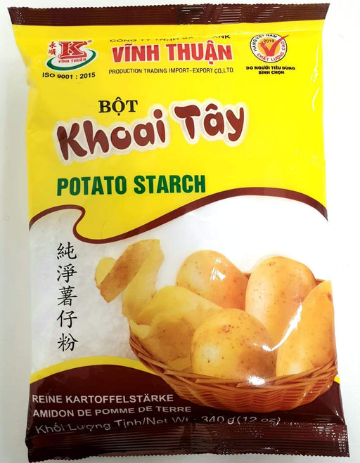 Vinh Thuan Bot Khoai Tay Potato Starch 340g - Yin Yam - Asian Grocery
