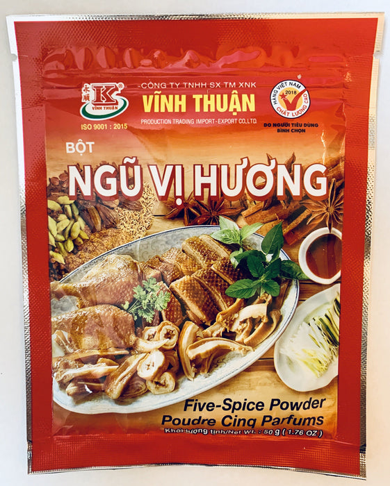 Vinh Thuan BOT NGU VI HUONG Five Spice Powder 50g Seasoning Powder Vinh Thuan