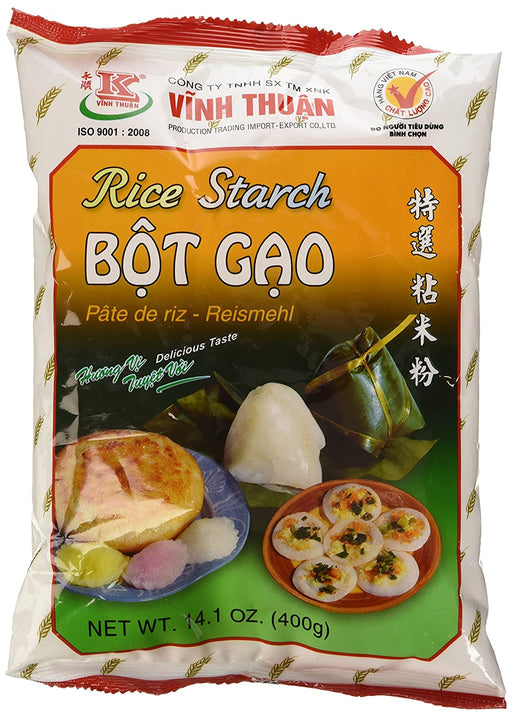 Vinh Thuan Bot Gao Rice Starch 400g - Yin Yam - Asian Grocery