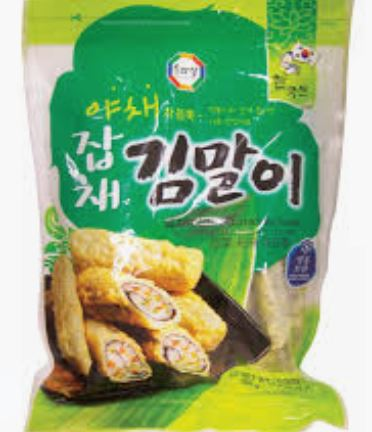 Wang Surasang FROZEN Fried Seaweed Roll (Vermicelli & Vegetable) 500g