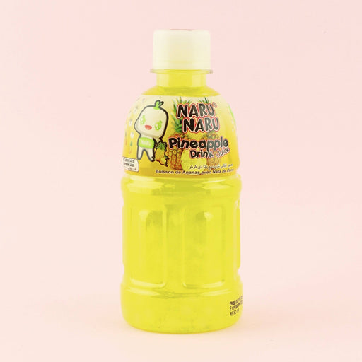Naru Naru Pineapple Juice With Nata De Coco 340Ml