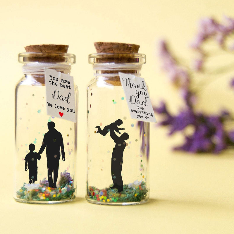 """Thank You Dad"" Gift Bottle - AwwBottles"