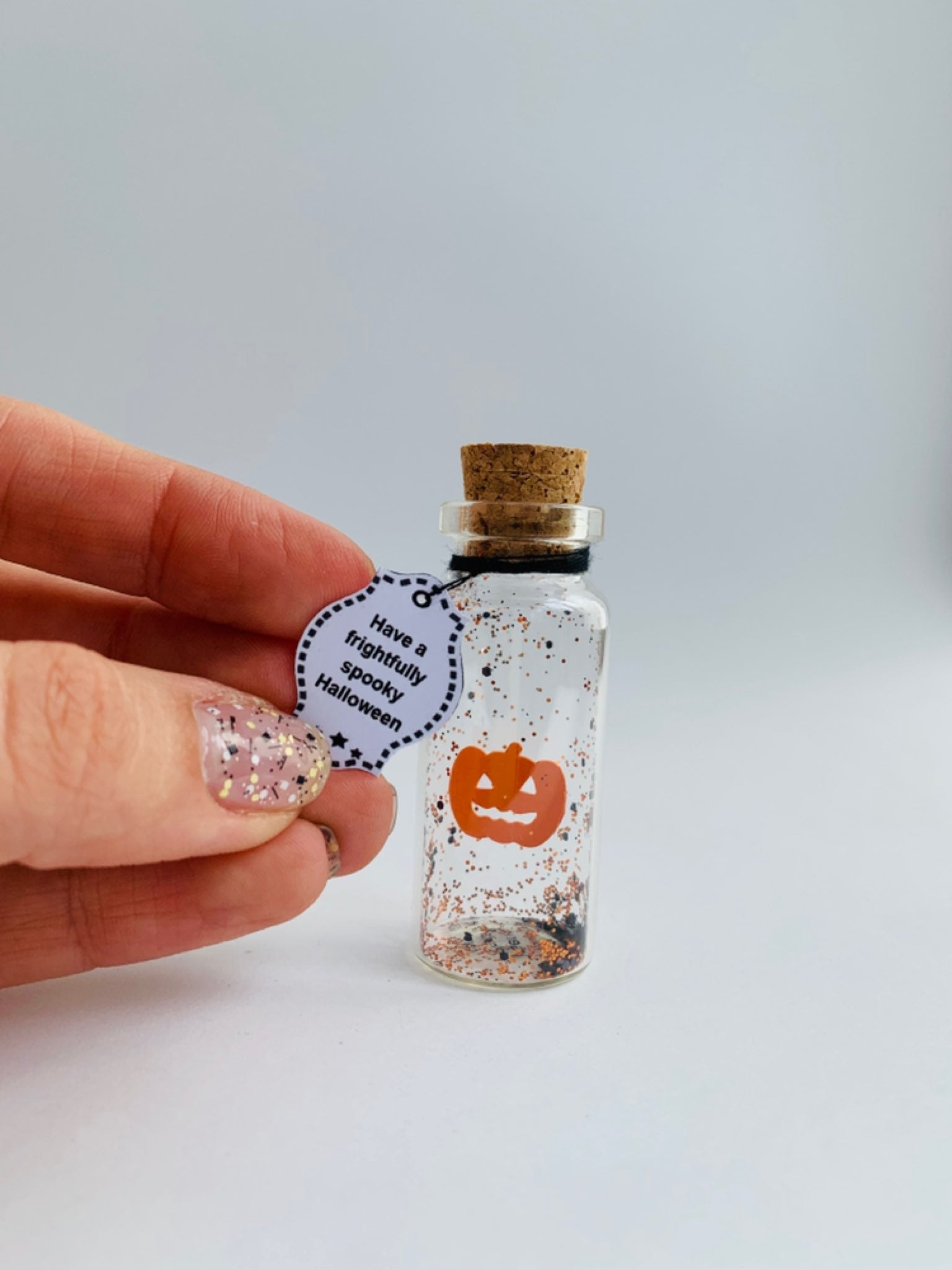 Have A Frightfully Spooky Halloween Personalize Gift - AwwBottles