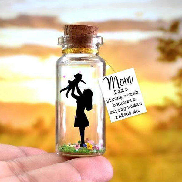 """Strong Mother"" gift bottle - AwwBottles"