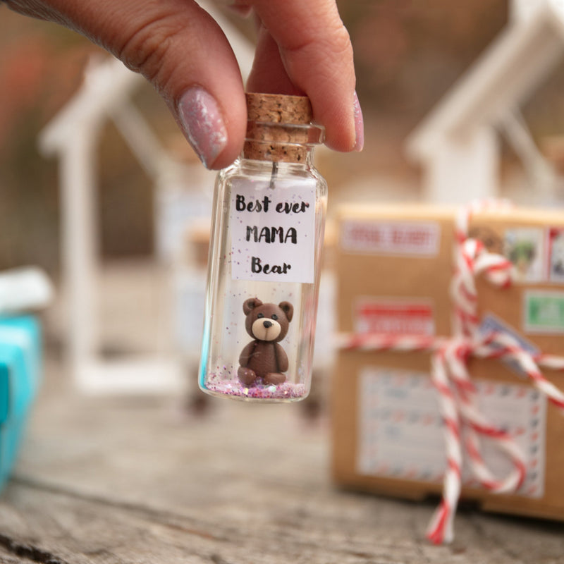 """Best Ever Mama Bear"" Gift Bottle - AwwBottles"