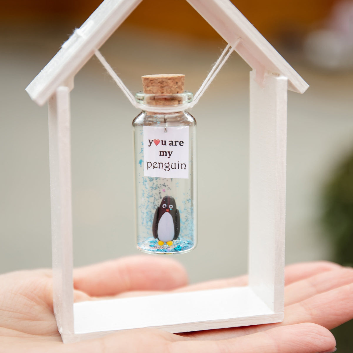 """You are Best MoM Ever"" Penguin Gift Bottle - AwwBottles"