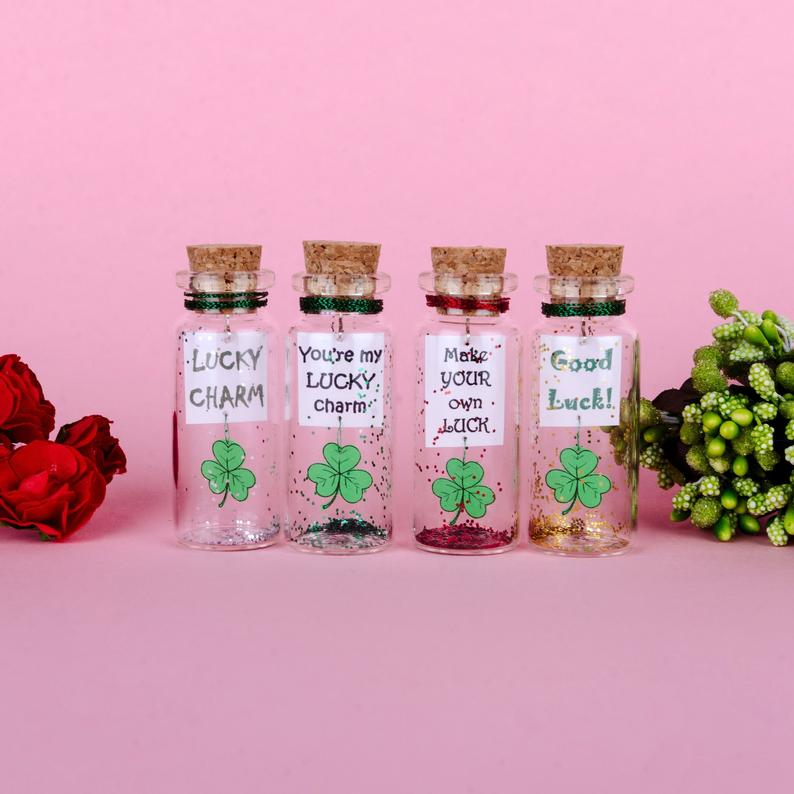 """You're my Lucky Charm"" Gift Bottle - AwwBottles"