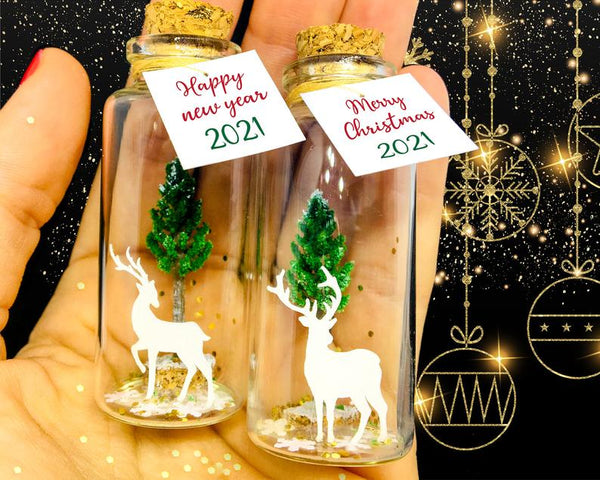 """Merry Christmas My Deer"" Gift Bottle - AwwBottles"