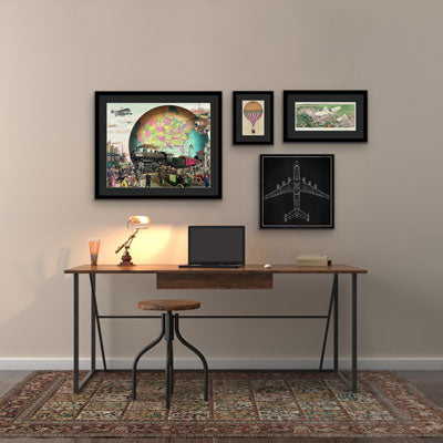 The Best Wall Art for a Home Office