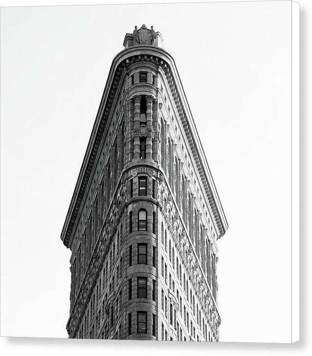 Flatiron Building, New York City - Canvas Print from Wallasso - The Wall Art Superstore