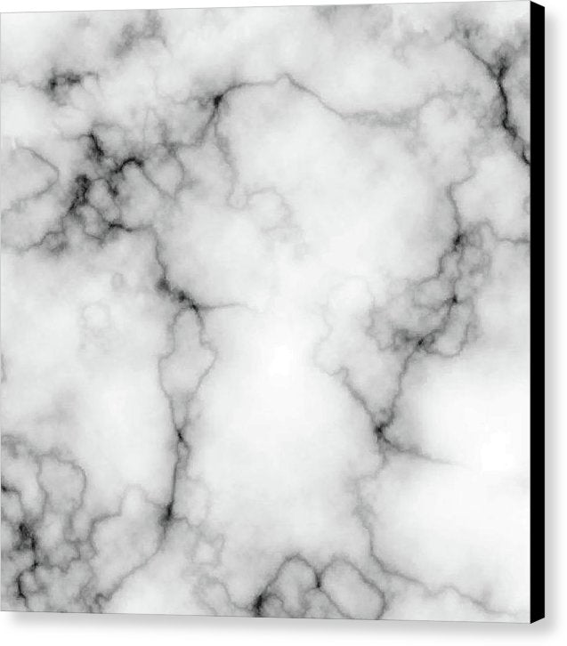 Grey Marble Texture - Canvas Print from Wallasso - The Wall Art Superstore