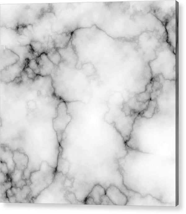 Grey Marble Texture - Acrylic Print from Wallasso - The Wall Art Superstore