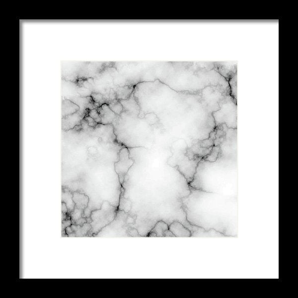 Grey Marble Texture - Framed Print from Wallasso - The Wall Art Superstore