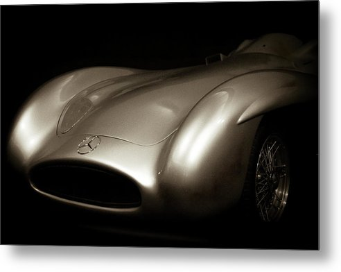 Vintage 1955 Mercedes-benz W 196 R Sports Car - Metal Print from Wallasso - The Wall Art Superstore