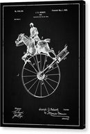 Vintage Horse Toy Patent, 1900 - Canvas Print from Wallasso - The Wall Art Superstore