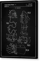 Vintage Space Suit Patent, 1973 - Acrylic Print from Wallasso - The Wall Art Superstore