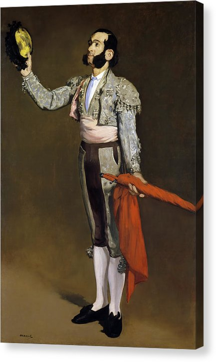 A Matador By Edouard Manet, 1866 - Canvas Print from Wallasso - The Wall Art Superstore