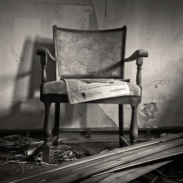 Abandoned Chair - Art Print from Wallasso - The Wall Art Superstore
