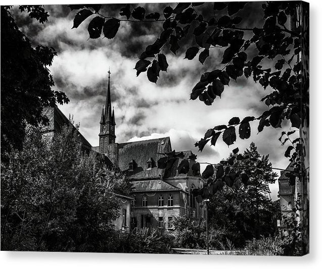 Abandoned Church Steeple - Canvas Print from Wallasso - The Wall Art Superstore