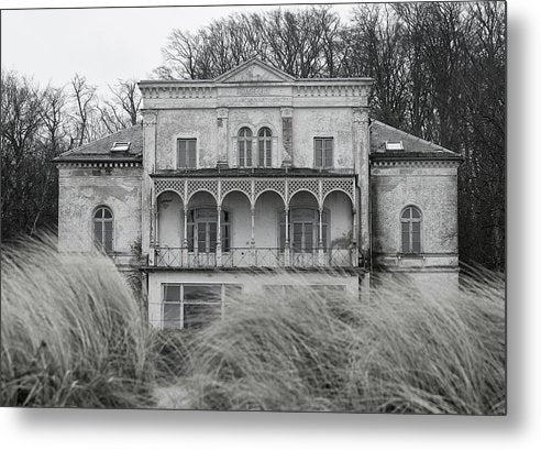 Abandoned Mansion - Metal Print from Wallasso - The Wall Art Superstore