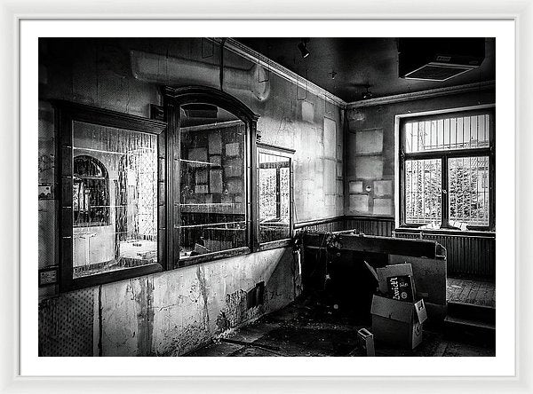 Abandoned Pub - Framed Print from Wallasso - The Wall Art Superstore