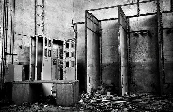 Abandoned Storage Room - Art Print from Wallasso - The Wall Art Superstore