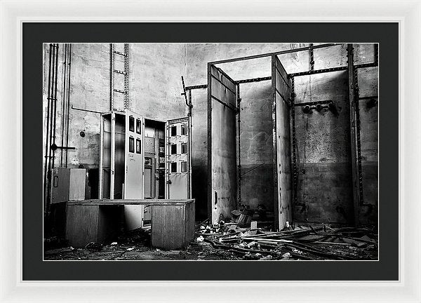 Abandoned Storage Room - Framed Print from Wallasso - The Wall Art Superstore