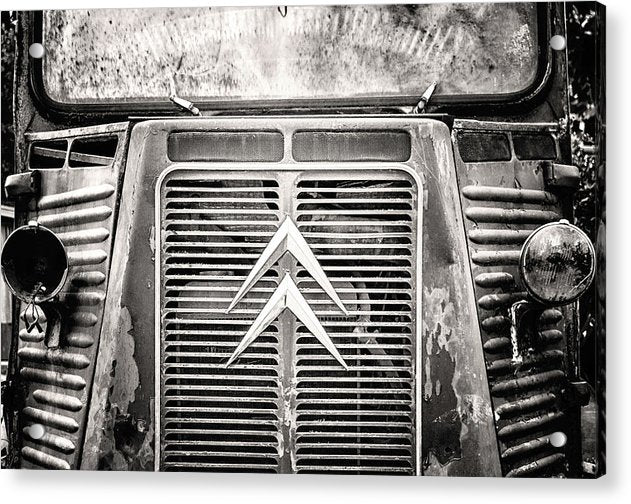 Abandoned Truck Grill - Acrylic Print from Wallasso - The Wall Art Superstore
