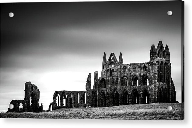 Abandoned Whitby Abbey Church - Acrylic Print from Wallasso - The Wall Art Superstore