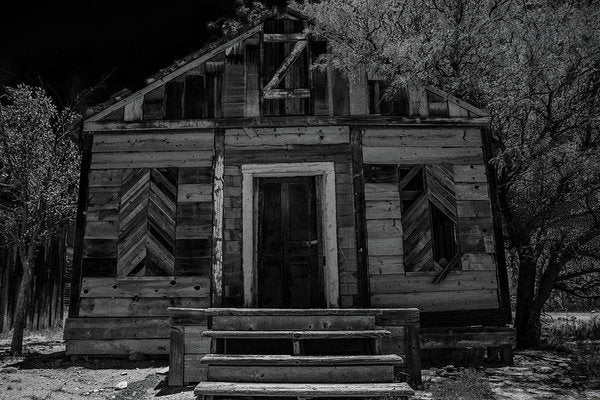 Abandoned Wood House - Art Print from Wallasso - The Wall Art Superstore