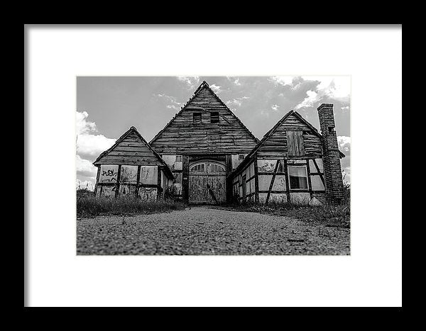 Abandoned Wooden Cottage - Framed Print from Wallasso - The Wall Art Superstore