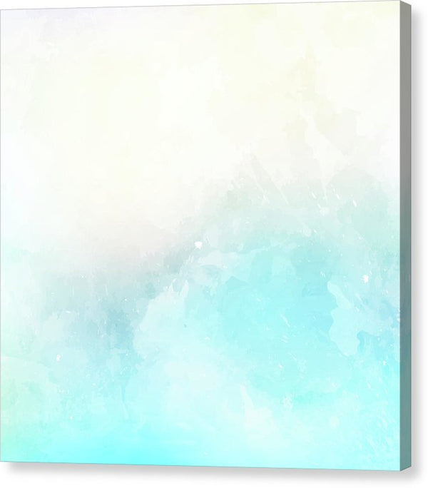 Abstract Beach Painting - Canvas Print from Wallasso - The Wall Art Superstore