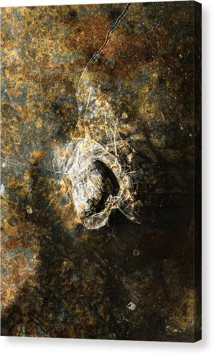 Abstract Rusty Gold Texture - Canvas Print from Wallasso - The Wall Art Superstore