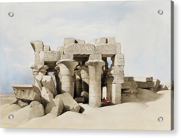 Ancient Egyptian Temple of Kom Ombo - Acrylic Print from Wallasso - The Wall Art Superstore