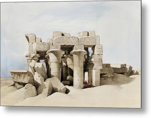 Ancient Egyptian Temple of Kom Ombo - Metal Print from Wallasso - The Wall Art Superstore