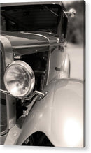 Antique Car Headlight and Fender - Acrylic Print from Wallasso - The Wall Art Superstore