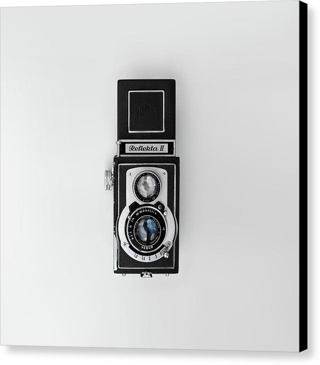 Antique Reflekta Camera - Canvas Print from Wallasso - The Wall Art Superstore