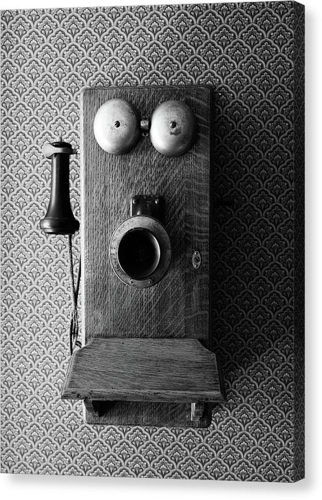 Antique Telephone - Canvas Print from Wallasso - The Wall Art Superstore