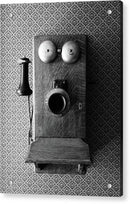 Antique Telephone - Acrylic Print from Wallasso - The Wall Art Superstore