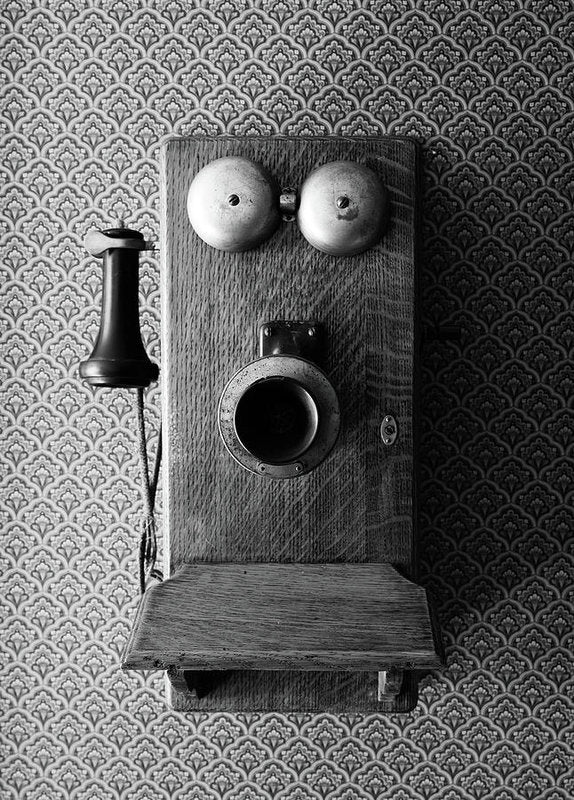 Antique Telephone - Art Print from Wallasso - The Wall Art Superstore