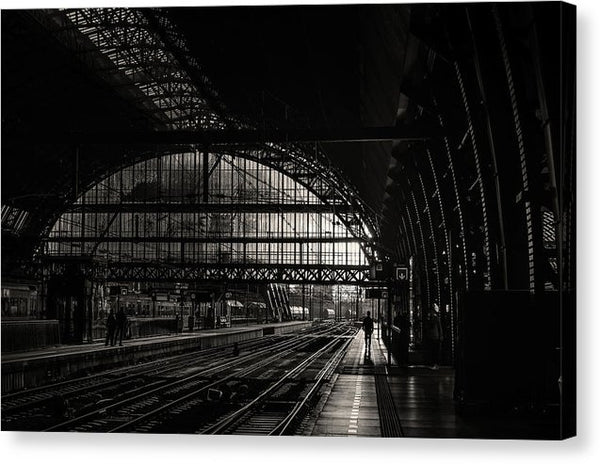 Beautiful Train Station - Canvas Print from Wallasso - The Wall Art Superstore