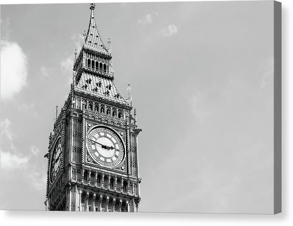 Big Ben Clock Tower - Canvas Print from Wallasso - The Wall Art Superstore