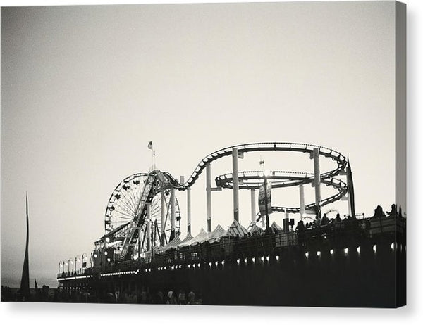 Boardwalk Carnival - Canvas Print from Wallasso - The Wall Art Superstore