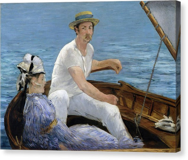 Boating by Edouard Manet, 1874 - Canvas Print from Wallasso - The Wall Art Superstore