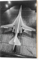 Boeing 2707 SST Supersonic Airplane - Wood Print from Wallasso - The Wall Art Superstore