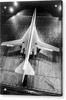 Boeing 2707 SST Supersonic Airplane - Acrylic Print from Wallasso - The Wall Art Superstore