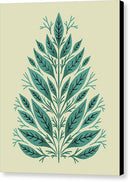 Boho Retro Tree - Canvas Print from Wallasso - The Wall Art Superstore