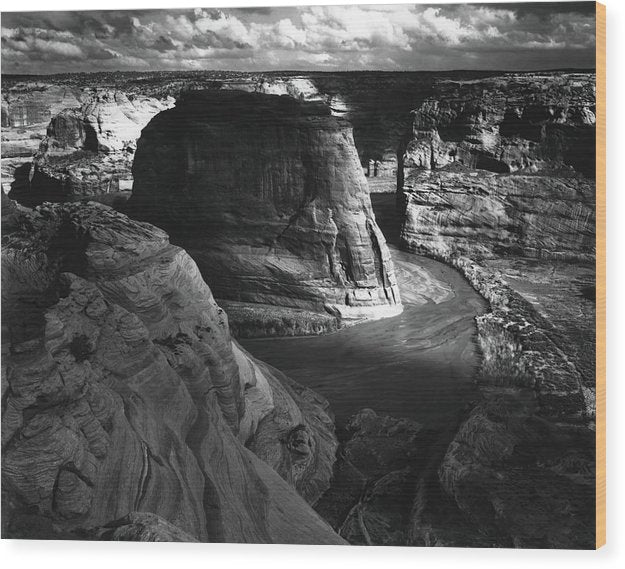 Canyon De Chelly by Ansel Adams, 1942 - Wood Print from Wallasso - The Wall Art Superstore